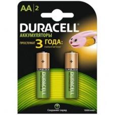 Аккумулятор Duracell AA HR6 1300mAh * 2 (5000394039186 / 81367175)