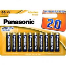 Батарейка PANASONIC LR06 Alkaline Power * 20 (LR6REB/20BW)