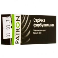 Лента к принтерам PATRON 13мм х 7м Black (П.М.) (RIB-PN-12.7x7-ПМ-B)